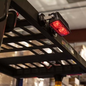 Stacker LED Light \/ Light Red Warning de siguranță
